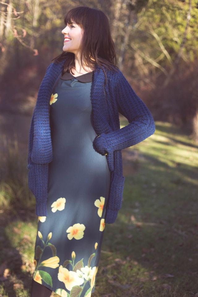 Happy Yellow Dress, Dex, Paradise Boutique, vintage fashion,