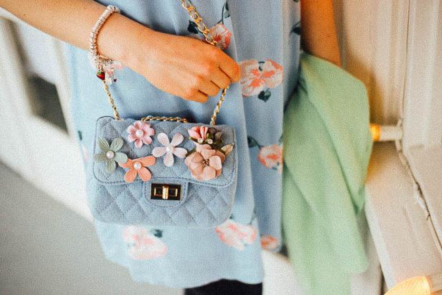 Pom Pom, Boutique, floral dress, Baby blur, spring, fashion, Vintage, Victoria