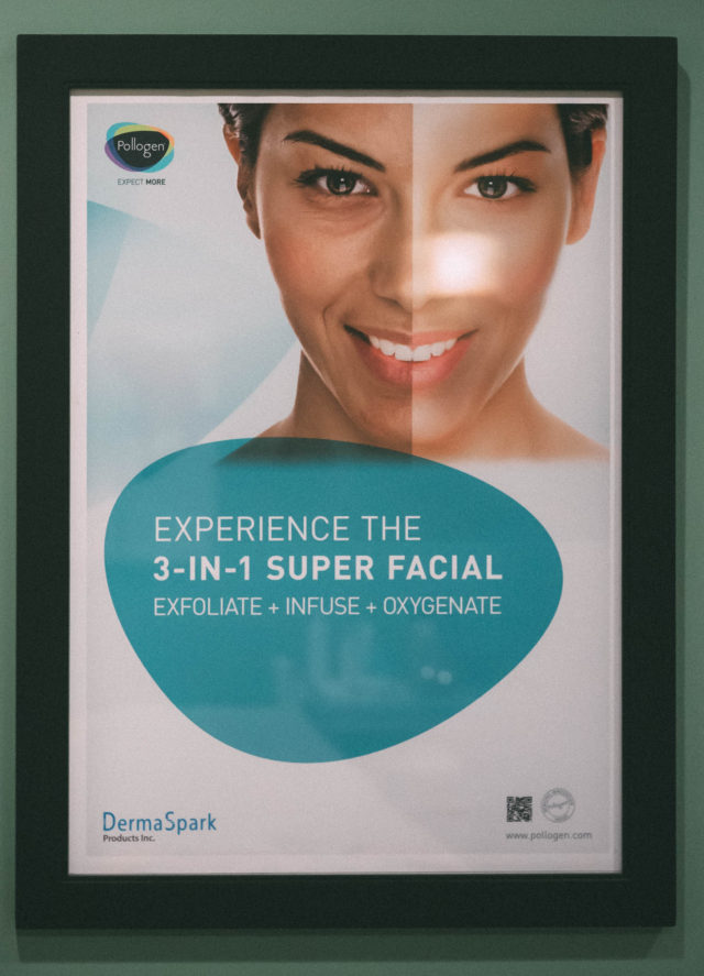 Reveal Laser, Skin Care in Victoria BC, Oxgeneo 3-in-1 Super Facial,
