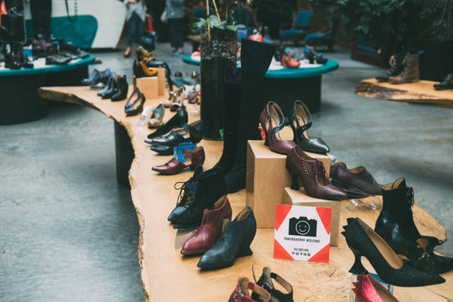 Eco Fashion Week, Day 2, Fairmont Waterfront, Vancouver, Gastown , John Fluevog,