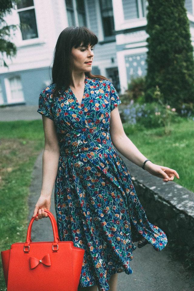 Emmy Design, Sweden, Vintage, retro, Spring, Summer, Dress , 1950s, tulip, Review Australia