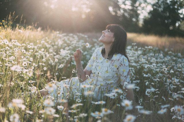 Flawless in Fleurs Midi Dress, Daisy, Crochet, Vintage, summer