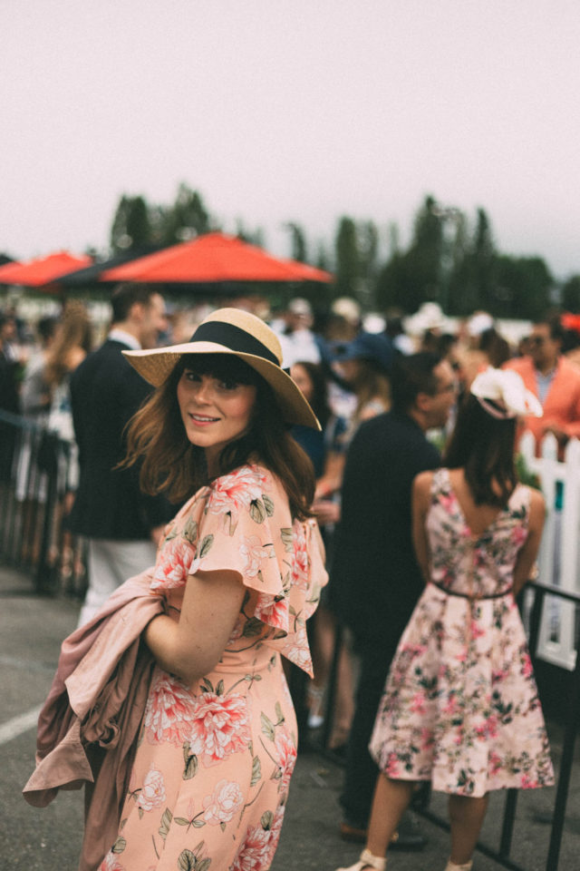 Deighton Cup, Horse Race, Hastings Race Track, Fascinators, vintage, fashion, summer. Vancouver, Le Chateau