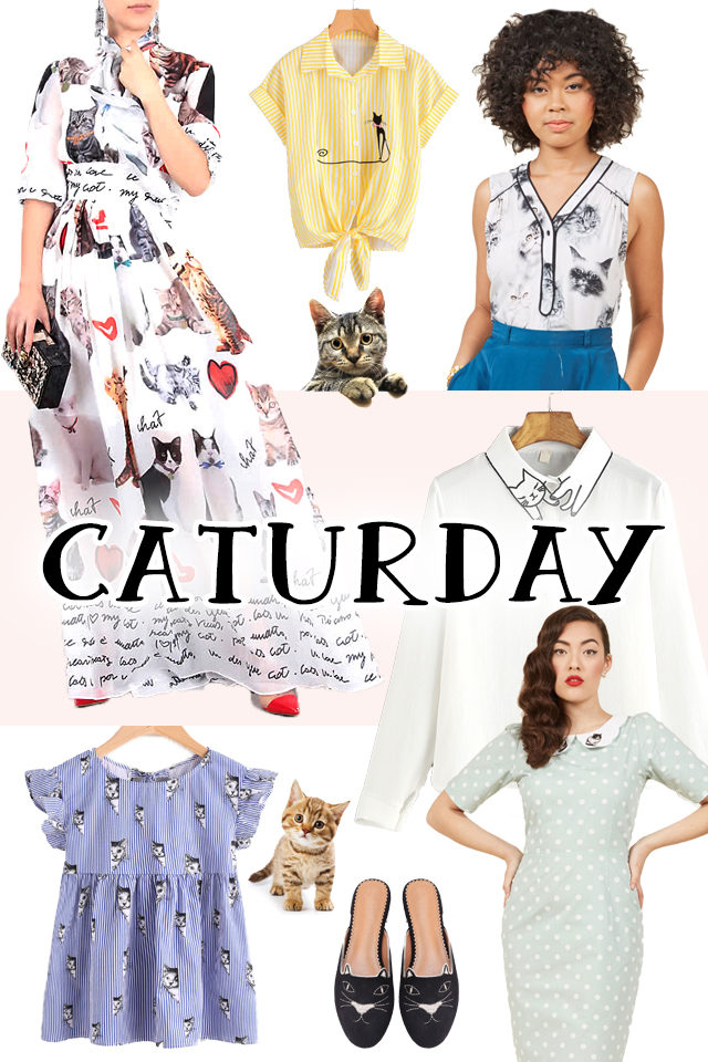 Vintage Hollywood, Cat, Vintage, retro, Old Hollywood, Audrey Hepburn, Betty Davis, Marilyn Monroe, Cat themed clothes, cat fashion
