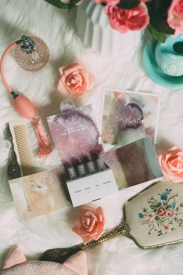 Meadow Perfume by Skylar Body, Floral Elegant, Beautiful scent, Skylar Body, Cruelty Free, Natural, Hypoallergenic Perfume, tuberose, rose, baie rose, patchouli, cistus flower
