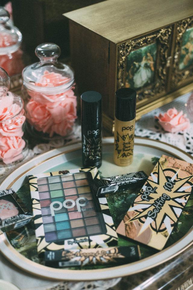 Pop Beauty, 24K Face Base, Eye Magnet Primer, Pop Portfolio, eye shadow, Ink Outliner, Setting 101, Makeup Magnet Mist, New Years Eve, Makeup, tutorial, vintage makeup, retro, makeup, style, idea