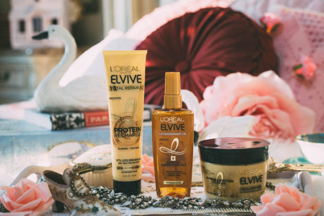 L'Oréal Paris Elvive, Quiz, proof in one use, Elvive Total Repair 5 Protein Recharge, Elvive Total Repair 5 Damage-Erasing Balm, Elvive Extraordinary Oil, Elvive Color Vibrancy Repair and Protect Balm, Review, #ProofIn1Use #TargetBeauty