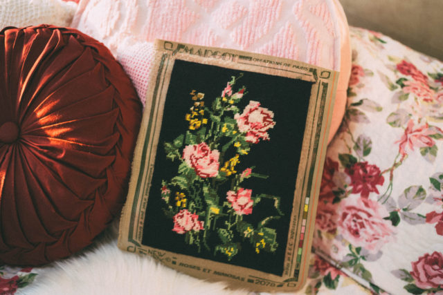Vintage. Thrift store, Haul, retro, Thrift shopping, Homeware haul, home decor, shabby chic, cat, painting, shoes, decor, needle point, costume jewellery