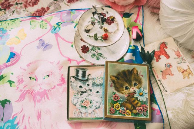 Vintage Fair, Victoria, haul, vintage, retro, antique, vintage cats,