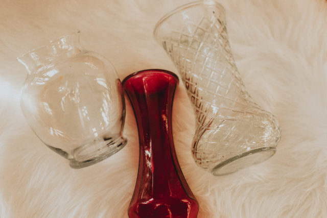 DIY decoupage vintage floral vase, up cycled vintage vase, mod lodge, shabby chic, vintage decor, up cycling, vintage decor,