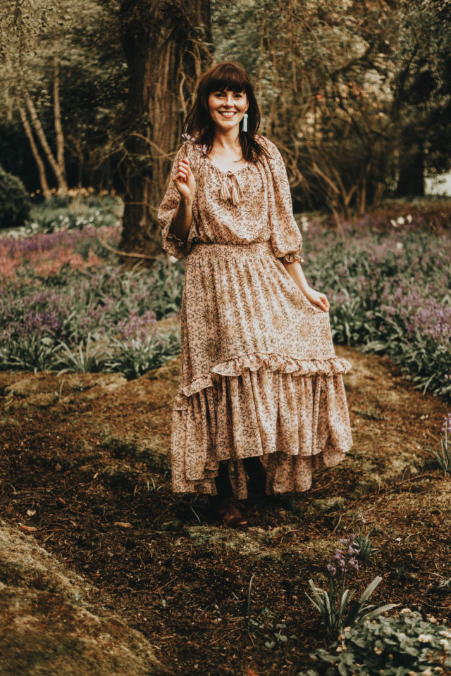 California Moonrise Spring lookbook, vintage romance spring lookbook, 1970s bohemian spring lookbook, spring dresses, spring fashion, California Moonrise