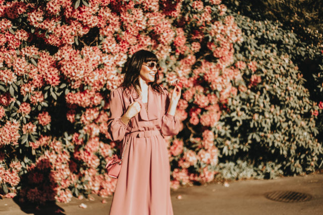 Vintage dress, spring fashion, vintage, retro, floral, outfit,