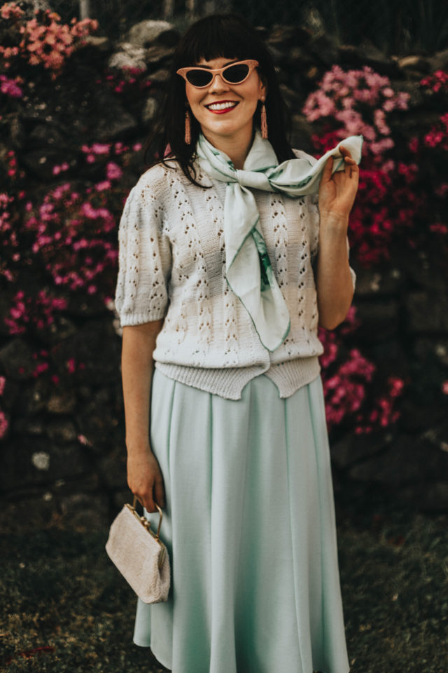 Vintage, fashion, spring fashion, lookbook, pastel, floral, summer, style, outfit ideas
