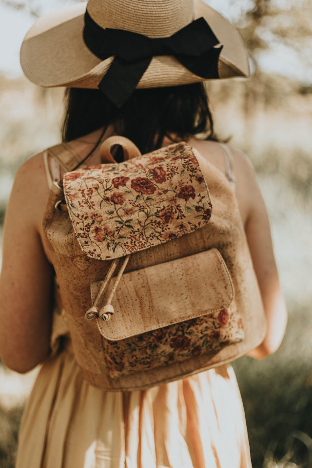 Corkcentric, sustainable fashion, sustainable backpack, cork backpack, eco fashion, sustainable fashion,