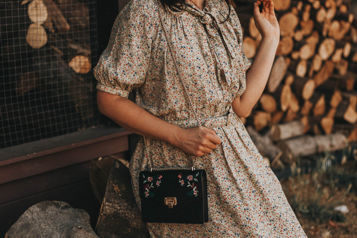Vintage Autumn Dress LookBook