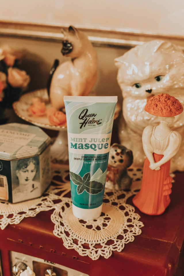 5 vintage beauty products you can still buy today, Laura Jane atelier, vintage Beauty products, vintage cosmetics, ADD TO FAVORITES Pond's Cold Cream, Cleanser, Marvis Classic Strong Mint Toothpaste, ADD TO FAVORITES Rosebud Salve Tin, ADD TO FAVORITES Coty Airspun Loose Face Powder, Queen Helene Mint Julep Masque, review,