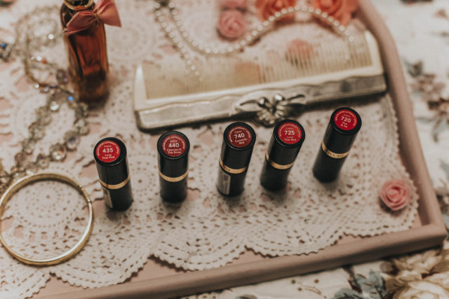Love that Red 1951, Fire and Ice 1952, Love that Pink 1955, Cherries In The Snow 1953 ,Certainly Red 1951, Vintage Revlon Lipsticks, 5 vintage Revlon Lipsticks you can still buy today, Vintage Revlon Cosmetics, Vintage Lipstick Shades,