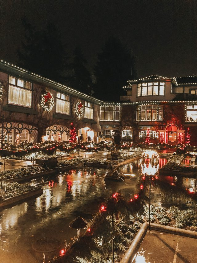 The Magic of Christmas, The Butchart Gardens, Christmas Light Display, Victoria, BC, Canada