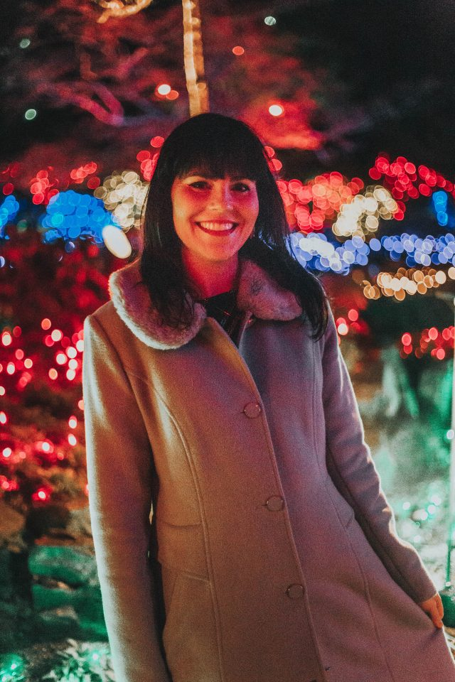 The Magic of Christmas, The Butchart Gardens, Christmas Light Display, Victoria, BC, Canada