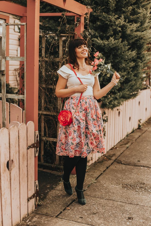 COLLECTIF VINTAGE JASMINE COUNTRY GARDEN SWING SKIRT, Collectif, Vintage Inspired Clothing, spring fashion,