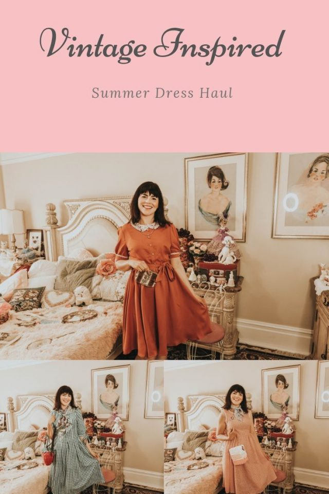 Shein, Vintage Inspired Summer Fashion, vintage Dress Haul, vintage Fashion, Vintage Style, Vintage Blogger