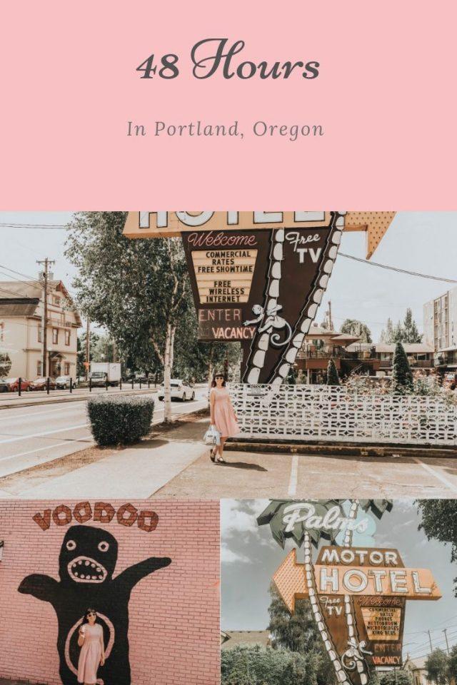 The Palms Motor Hotel Portland, Oregon, review, Voodoo donuts Portland, Alibi Tiki Portland,