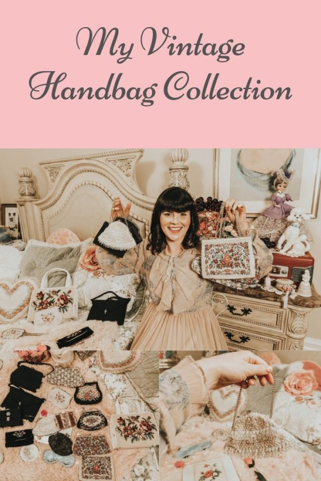 Vintage handbag collection, my vintage handbag collection, vintage purse haul, vintage purse