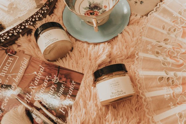 willow and birch apothecary, victorian skincare, victorian skin care, vintage skin care, victorian cold cream., vintage cold cream, victorian Makeup, Victorian Beauty routine,