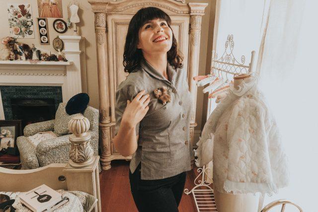 Lady K Loves, vintage 1950s denim, how to wear 1950s denim, how to wear 1950s denim, 1950s denim style, history of denim