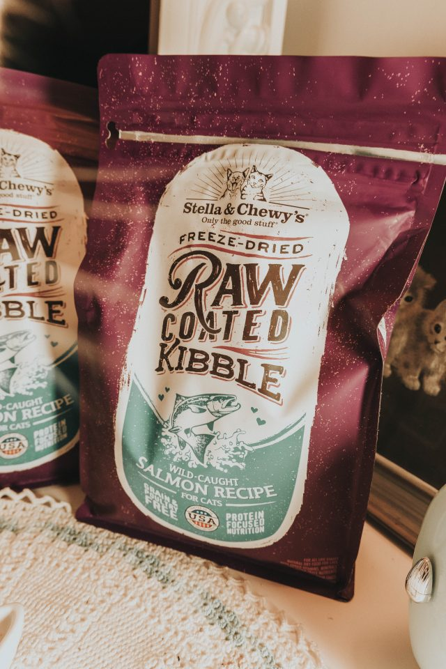 Stella and Chewys new Raw Blend Kibble for cats