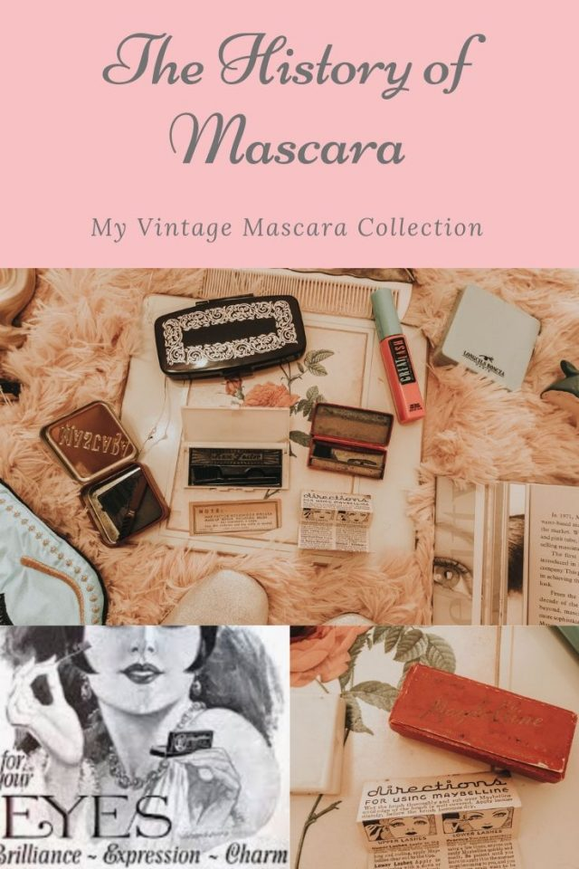 Vintage mascara you can still buy today, vintage mascara, vintage Maybelline mascara, vintage max factor mascara, the history of mascara, Besame Cake mascara, cake mascara, vintage inspired mascara,
