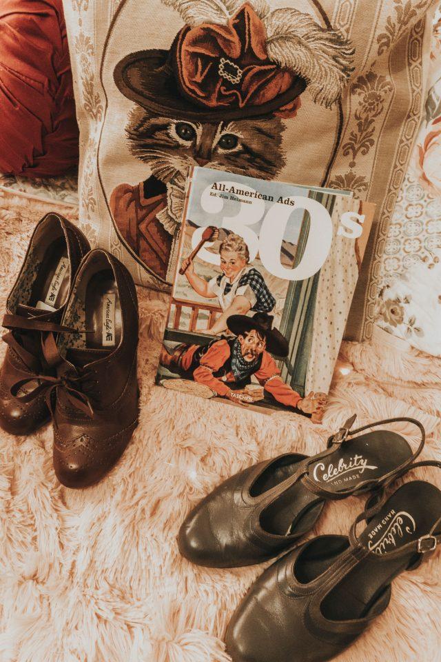 Unique Vintage, Unique Vintage 1940s Black & Light Blue Floral Print Luella Wrap Dress, Unique Vintage 1940s Style Navy & Cherry Floral Short Sleeve Natalie Swing Dress, Unique Vintage 1940s Ivory & Purple Floral Olson Swing Dress, The history of fashion in the 1930s, 1930s fashion history, women's fashion in the 1930s, 1930s fashion style guide, fashion in the 1930s, 1930s fashion