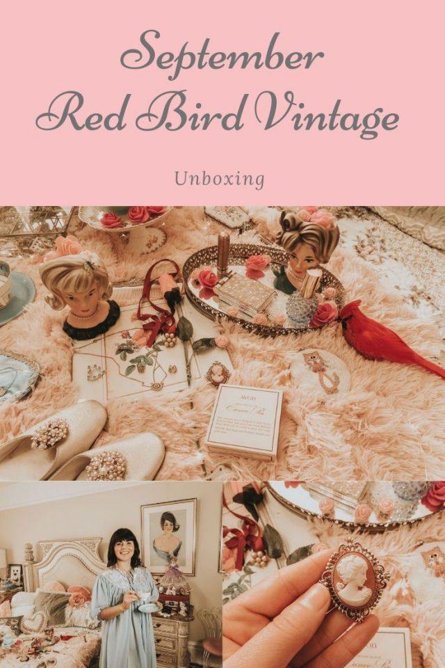 Redbird Vintage box, Redbird Vintage Box Review, Redbird Vintage Box, Redbird Vintage, Vintage Avon
