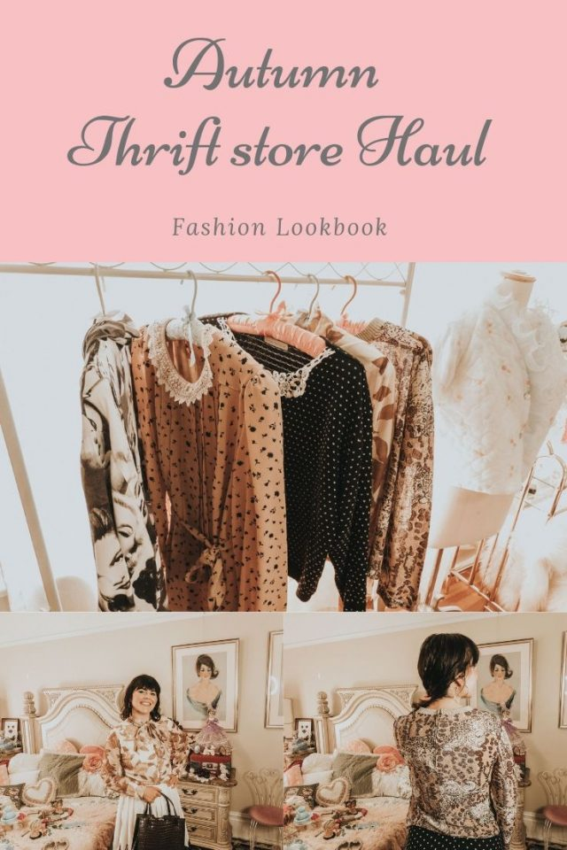autumn vintage thrift store clothing haul, vintage clothing haul, vintage thrift store clothing haul, fall vintage clothing Haul, autumn vintage clothing haul, vintage fashion cookbook, vintage style for fall