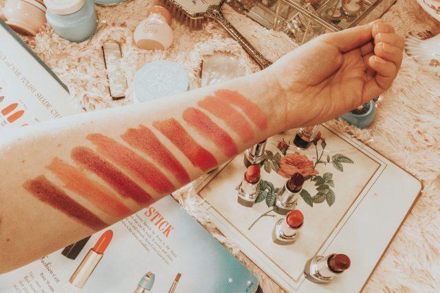 vintage Avon lipstick shades, vintage Avon lipstick, 1940s lipstick shades, vintage Avon, vintage Avon lipstick colors,