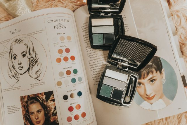 1950s beauty products you can still buy today, 1950s makeup, 1950s cosmetics, vintage ponds angel face, 1950s max factor, vintage max factor, vintage Avon, 1950s Avon, vintage revlon lipstick, revlon moon drops