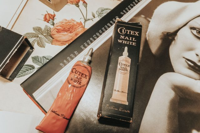 The history of Nail Polish, Vintage Nail Polish, The History of Cutex, Vintage Cutex, 1920s Cutex, 1930s Cutex, vintage cutex,