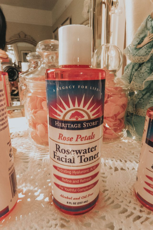 Heritage Store, Rose Water Collection, Heritage Store review, Rose water skincare, Vintage Rosewater skincare,