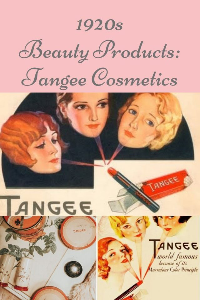 Vintage Tangee cosmetics, Tangee Cosmetics, the history of Tangee cosmetics, 1920s cosmetics, 1920s lipstick, color changing lipstick, the Vermont country store, Tangee cosmetics review, vintage cosmetics brands