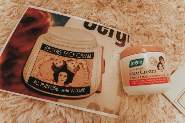 vintage drugstore face creams you can still buy today, Ponds cream cleanser, ponds vanishing cream, Avon Rich Moisture Cream, Queen Helene, Olay Beauty Fluid, vintage beauty products,