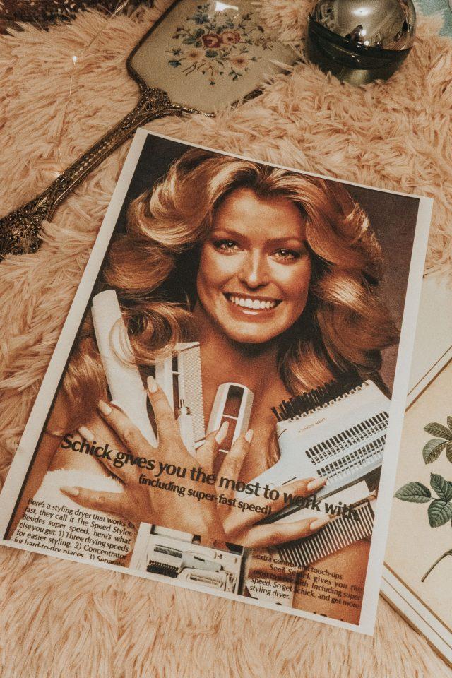Farrah Fawcett's favourite beauty products you can still buy today, Farrah Fawcett perfume, Farrah Fawcett lipstick, Farrah Fawcett makeup,