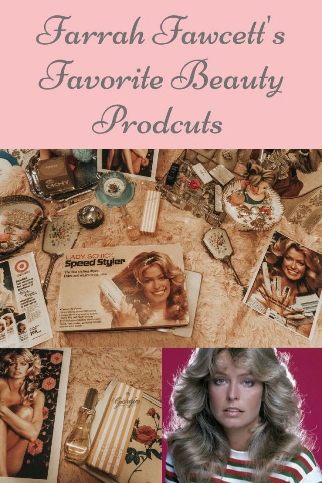 Farrah Fawcett's favourite beauty products you can still buy today, Farrah Fawcett perfume, Farrah Fawcett lipstick, Farrah Fawcett makeup,