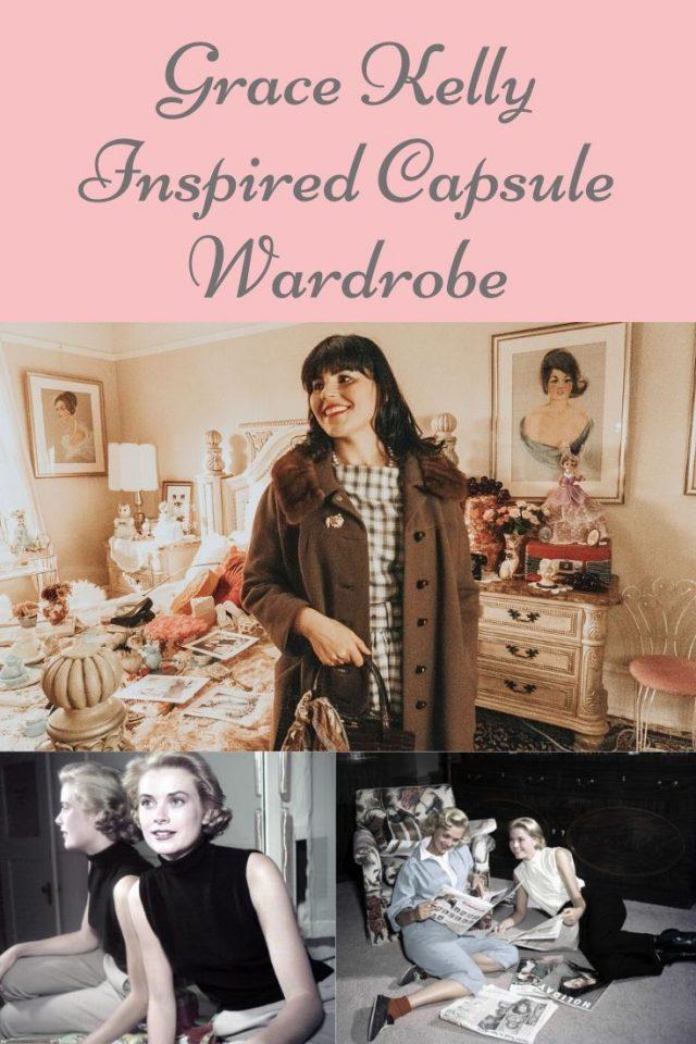 Grace Kelly, Grace Kelly Fashion, Grace Kelly Capsule Wardrobe, Grace Kelly Style Icon, Old Hollywood Fashion, Vintage capsule wardrobe