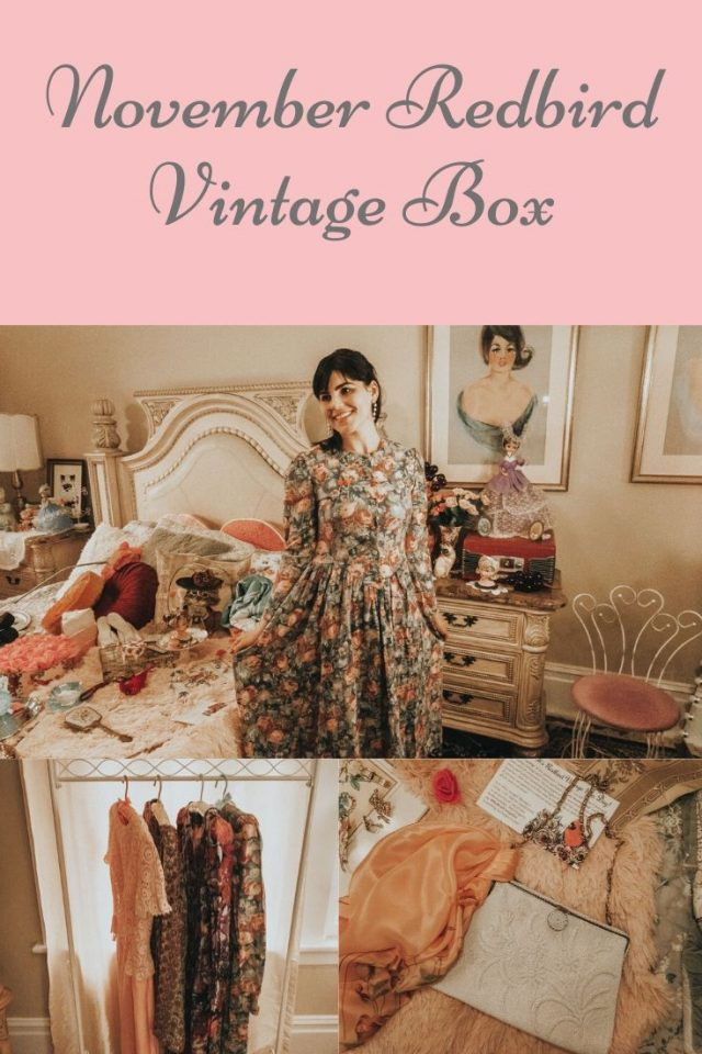 Redbird Vintage Box, vintage unboxing, vintage accessory box, vintage fashion, vintage subscription box,