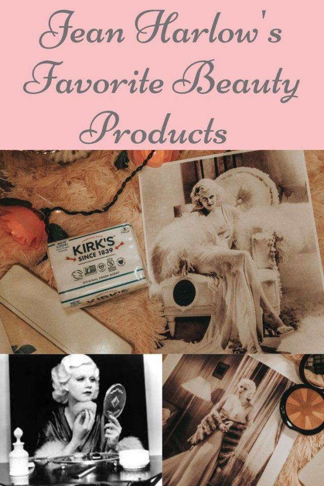 Jean Harlow's favorite beauty products that you can still buy today, Jean Harlow, old Hollywood beauty secrets, Jean Harlow makeup, Jean Harlow hair, Jean Harlow beauty routine, golden age of Hollywood, 1930s Hollywood, Jean Harlow perfume, Mitsouko by Guerlain