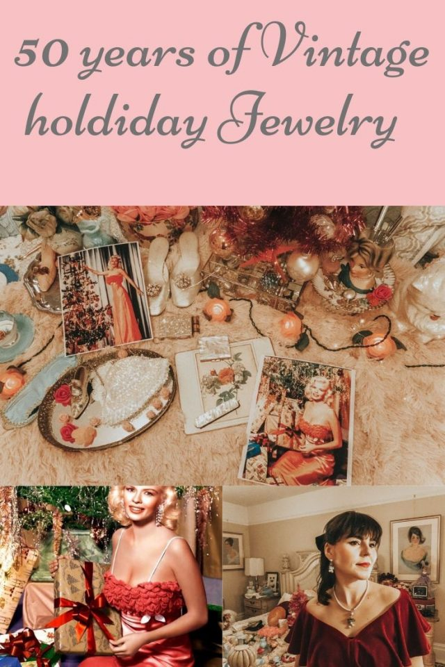 vintage inspired holiday jewelry, Hedy Lamar, Jayne Mansfield earrings, Old Hollywood inspired jewellery, vintage Christmas outfits, Downton Abbey jewellery, 1920s holiday outfits,