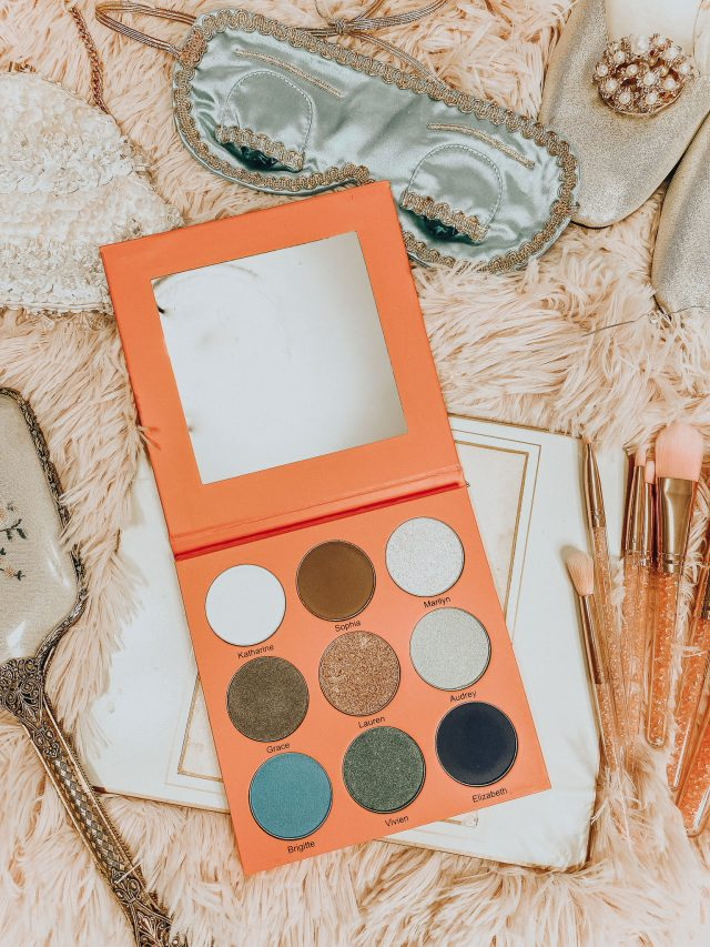 vintage doll cosmetics, vintage inspired makeup, 1950s eyeshadow shades, 1950s eyeshadow, vintage inspired makeup, 1950 makeup, vintage cosmetics, vintage makeup, vintage inspired eye shadow palette