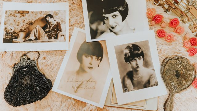 Louise Brooks, 1920s makeup tutorial, vintage makeup tutorial, 1920s makeup, vintage makeup, flapper makeup,
