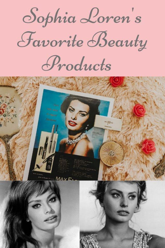 Sophia lorens, Sophia loren's favorite beauty products, Sophia Loren beauty routine, Sophia Loren beauty secrets, Sophia Loren skincare routine, Sophia Loren perfume
