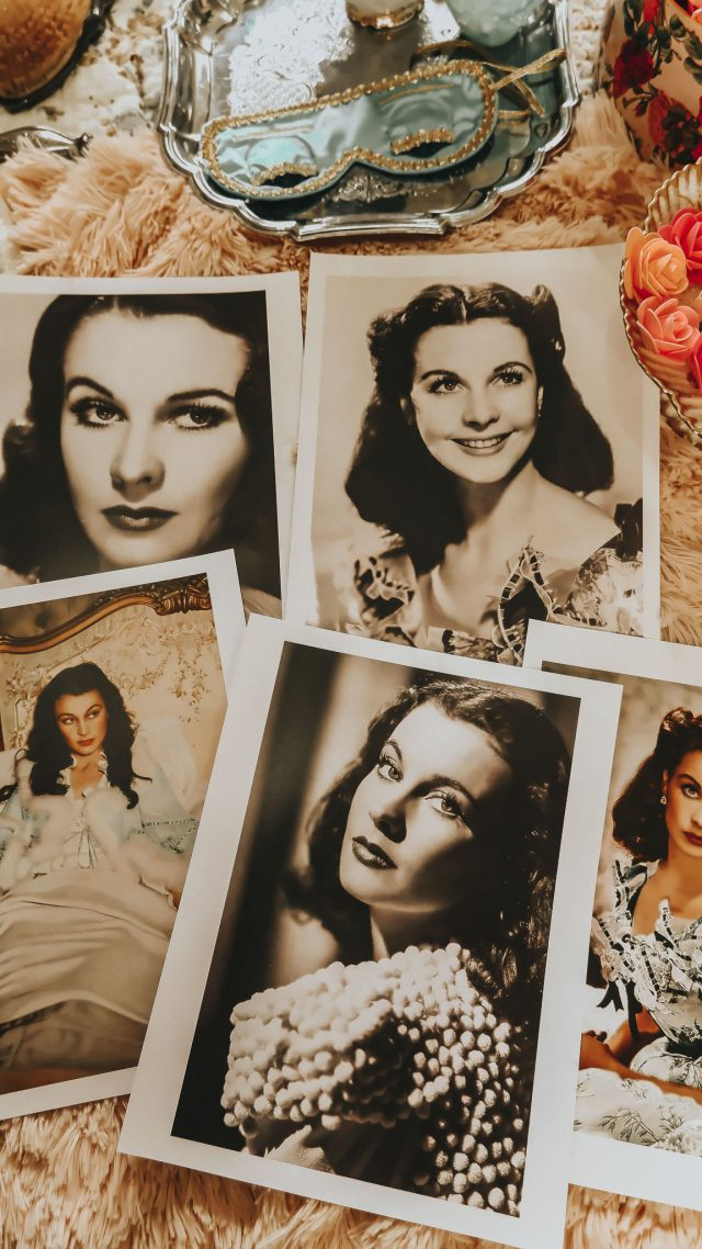 Vivien Leighs' favorite beauty products that you can still buy today, Vivien Leigh, Vivien Leigh makeup, Vivien Leigh beauty products, Old Hollywood glamour,